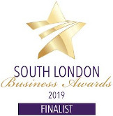 South London Business Awards 2019 Finalist logo